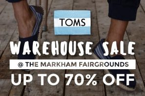 Everything You Need To Know: TOMS Warehouse Sale