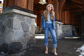 Trekking Through In A 'Canadian Tuxedo'