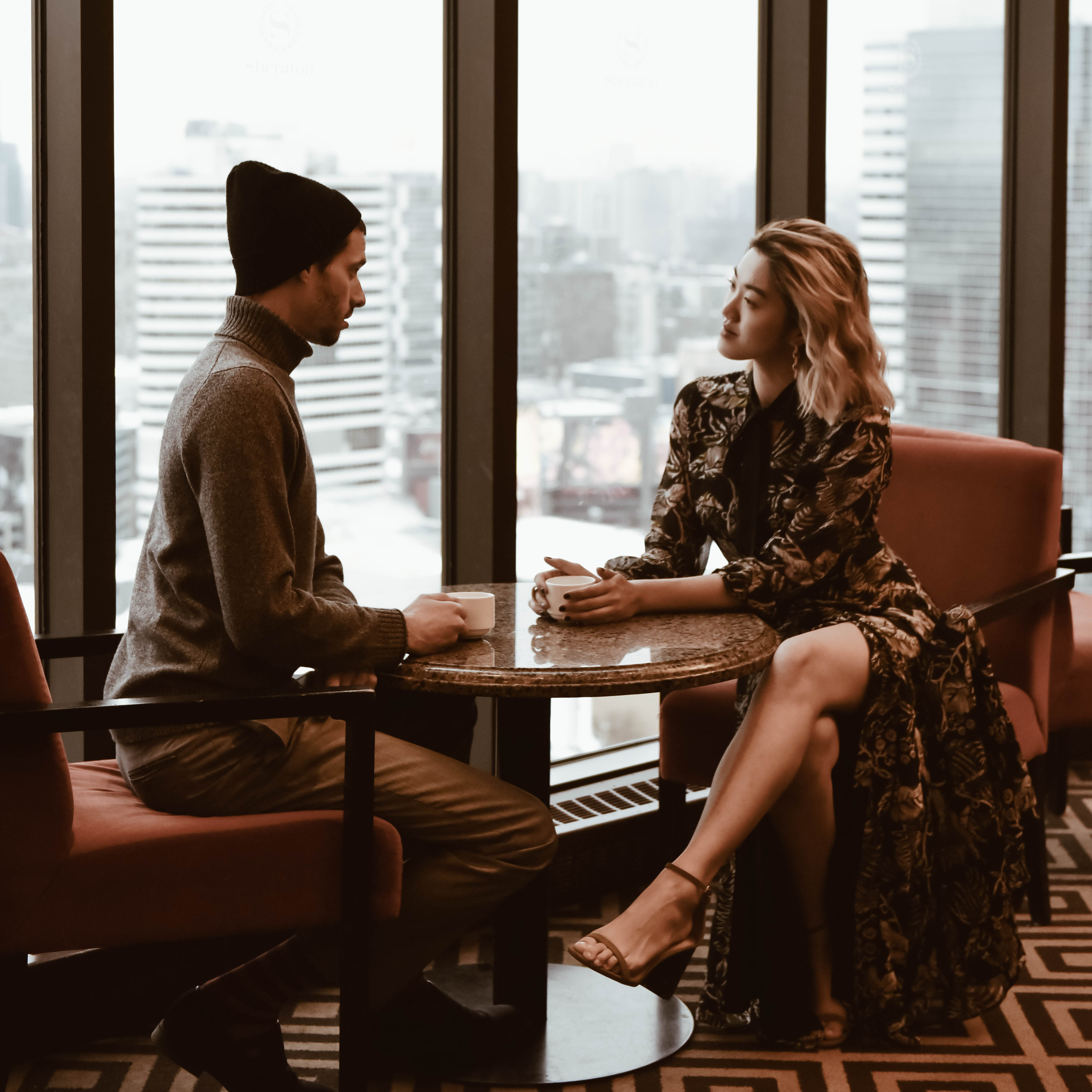 Sharing our dreams and goals for 2018 on the 43rd floor Club Lounge of the. Sheraton Centre